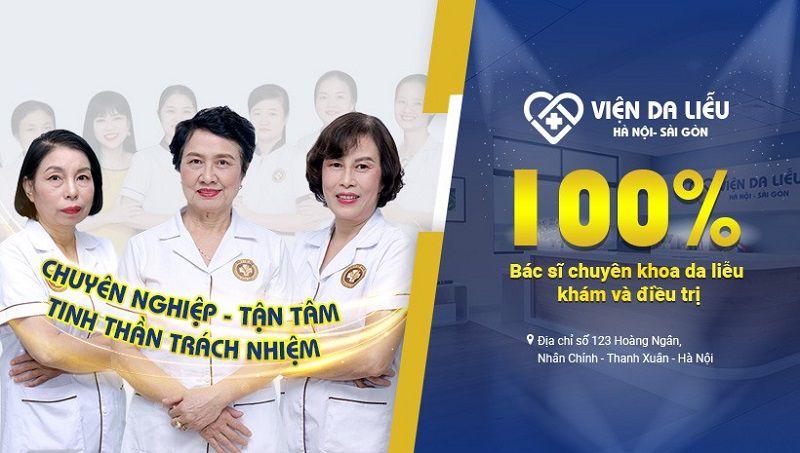 Viện Da liễu Hà Nội - Sài Gòn là địa chỉ khám chữa bệnh hắc lào uy tín