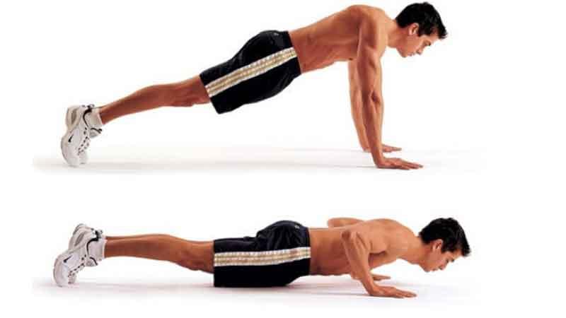 Chống đẩy giúp cơ thể săn chắc và tăng cường sinh lực