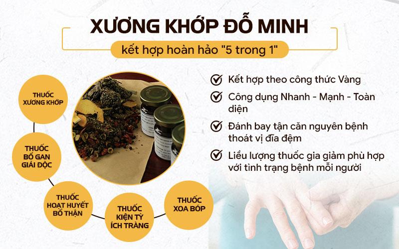 Bài thuốc 5 trong 1 giúp trị dứt điểm tình trạng cứng khớp ngón tay của Đỗ Minh Đường