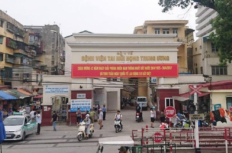 Bệnh viện Tai mũi họng Trung ương tại Hà Nội là một trong những địa chỉ cắt amidan uy tín