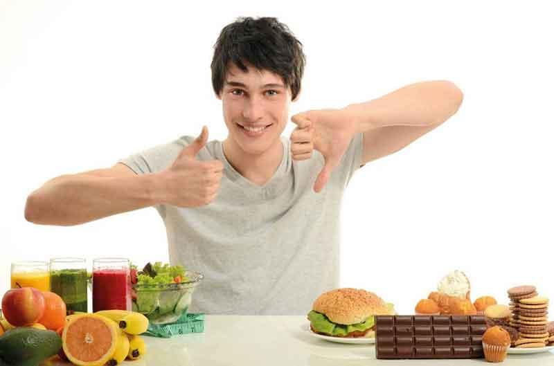Lưu ý về chế độ ăn uống cho nam giới khi điều trị bệnh