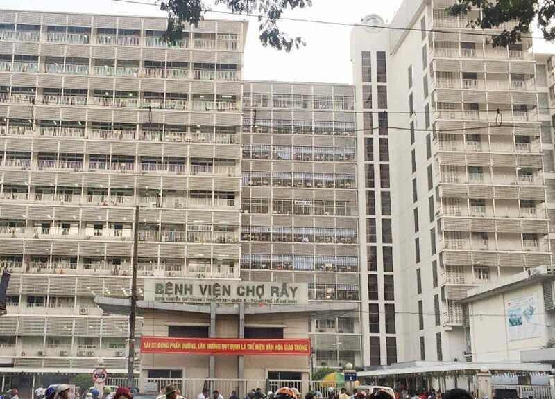 Bệnh viện Chợ Rẫy - một trong những địa chỉ điều trị xương khớp tốt nhất tại phía Nam