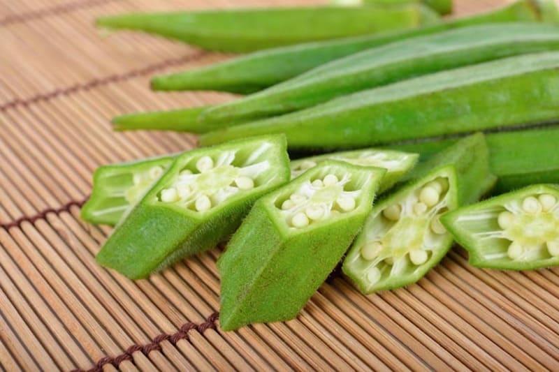 Viêm dạ dày cấp ăn gì - Đậu bắp một loại rau xanh tốt cho dạ dày