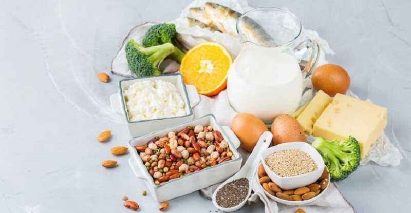 Tăng cường bổ sung các thực phẩm giàu canxi