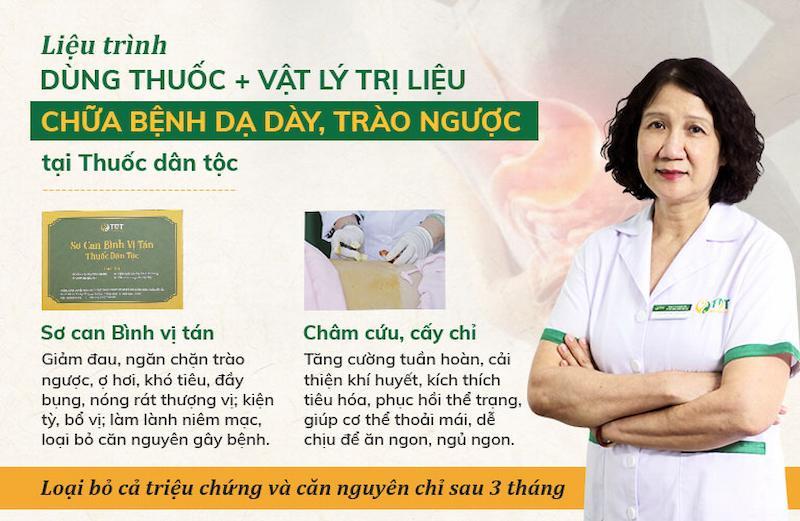 Liệu trình chữa đau dạ dày hiệu quả tối ưu nhất tại Trung tâm Thuốc dân tộc