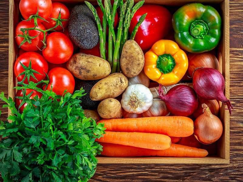 Các loại rau củ rất tốt cho người bị nám da