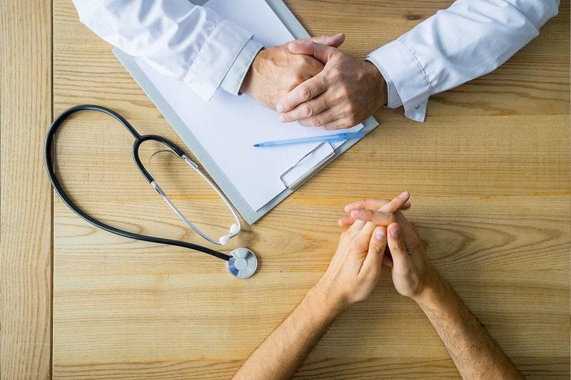 Bệnh nhân cần sớm đi thăm khám để kiểm tra sức khỏe