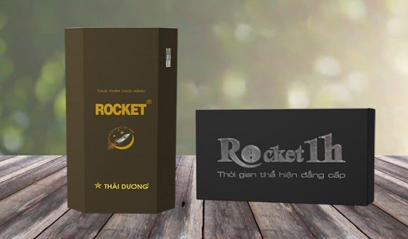 Bao bì thuốc tăng sinh lý nam Rocket 1h đang bán trên thị trường