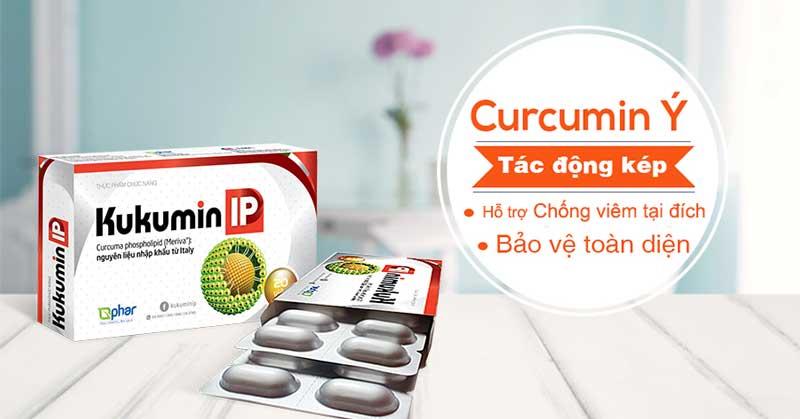 Thuốc Kukumin IP hỗ trợ điều trị chứng đau dạ dày