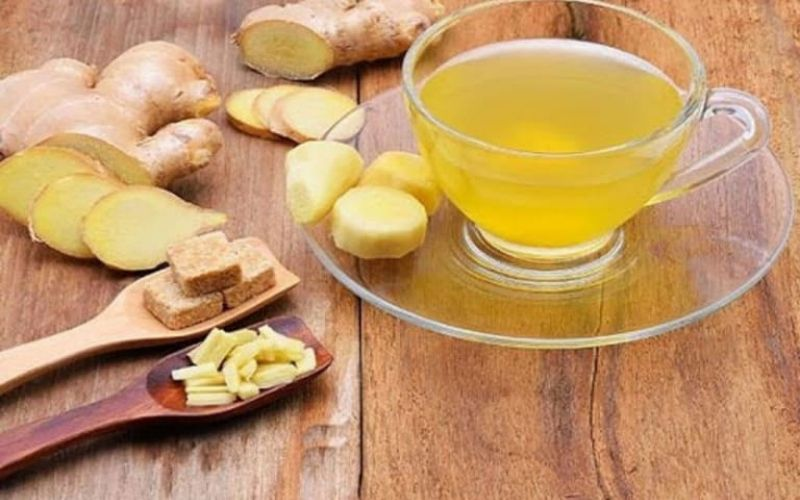 Gừng vị thuốc Đông Y an toàn có thể làm giảm cơn đau dạ dày tức thời