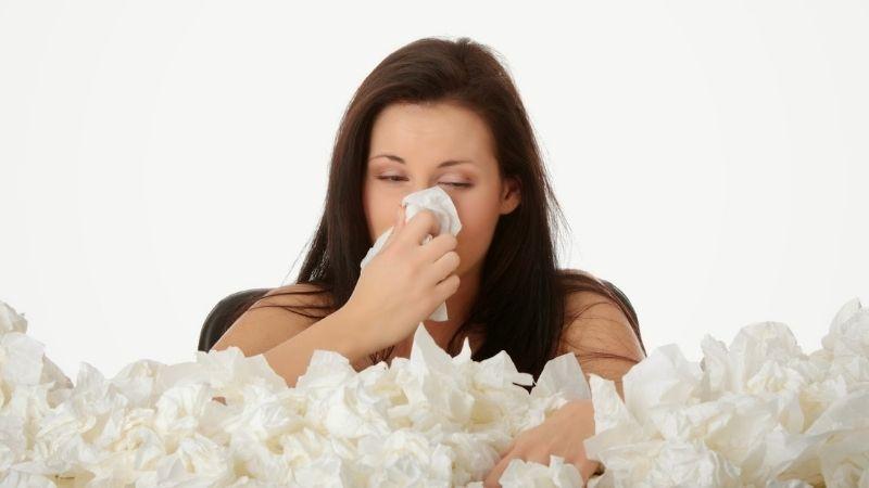 Bệnh viêm mũi dị ứng gây nhiều ảnh hưởng xấu tới sức khỏe người bệnh