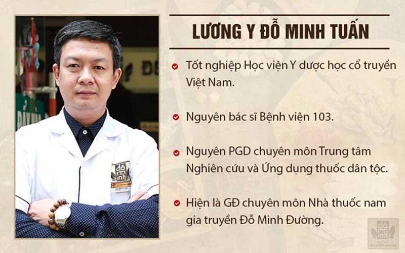 Bác sĩ chữa yếu sinh lý Đỗ Minh Tuấn