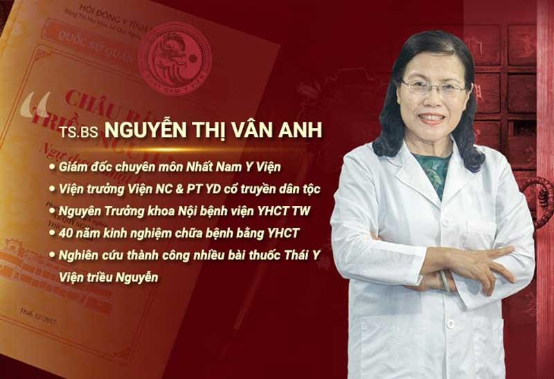 Tiến sĩ Nguyễn Thị Vân Anh được các chuyên gia đánh giá là một trong những bác sĩ chữa yếu sinh lý hàng đầu