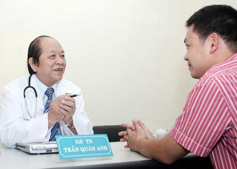 Bác sĩ Trần Quán Anh thuộc thế hệ đầu của ngành chuyên khoa Nam học tại Việt Nam