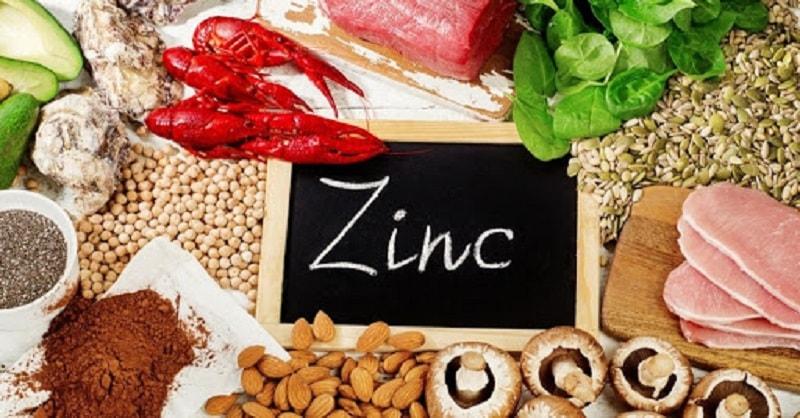 Người bệnh cần bổ sung nhiều thực phẩm chứa hàm lượng kẽm cao