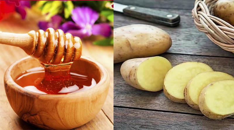 Khoai tây kết hợp với mật ong để tăng hiệu quả chữa bệnh