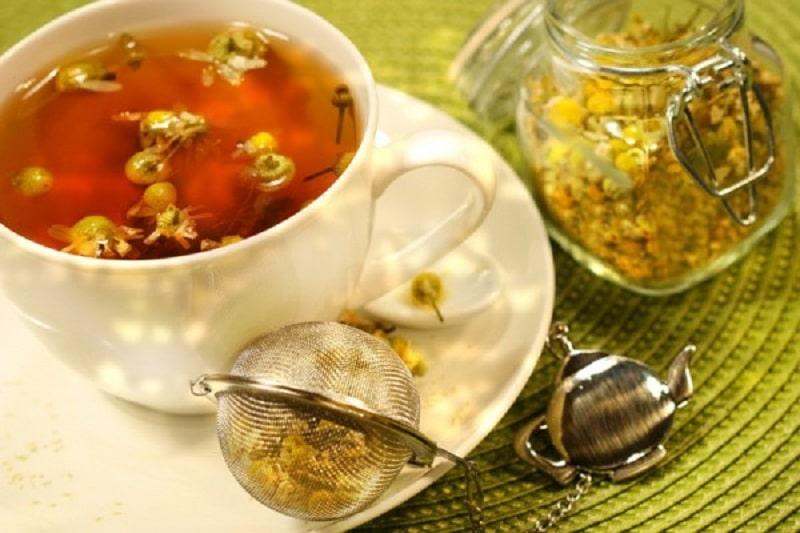 Trà mật ong hoa cúc giúp chữa viêm amidan và giữ tinh thần thoải mái, tỉnh táo