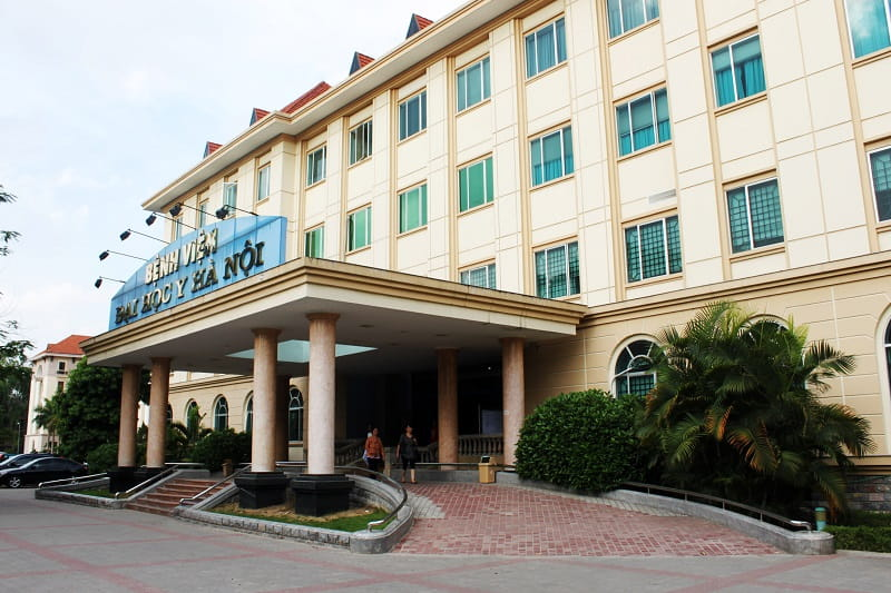 Bệnh viện Đại học Y Hà Nội là bệnh viện đầu ngành trong việc nghiên cứu và đào tạo nhân lực y học của Việt Nam