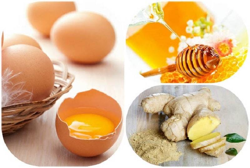 Chữa yếu sinh lý bằng trứng gà và mật ong hoặc gừng