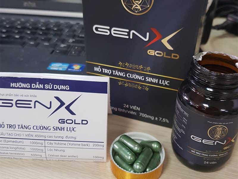 Hướng dẫn sử dụng thuốc tăng cường sinh lý nam Gen X