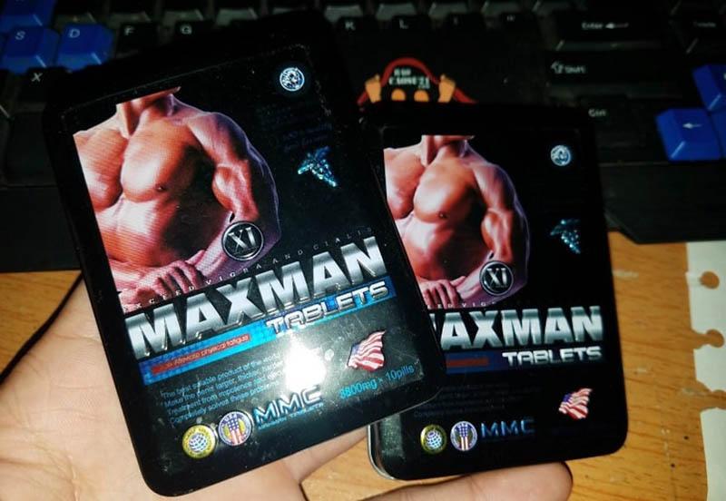 Maxman có chứa thành phần thiên nhiên và nhiều hoạt chất tốt cho phái mạnh