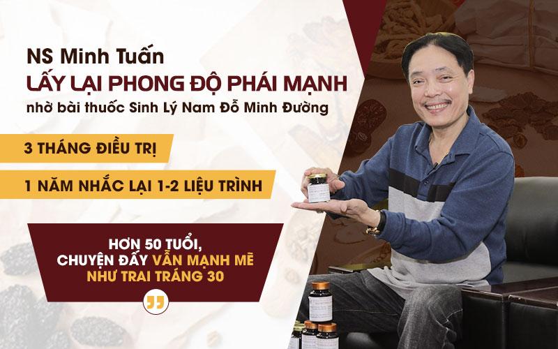 NSUT Minh Tuấn đã thành công đẩy lùi chứng yếu sinh lý
