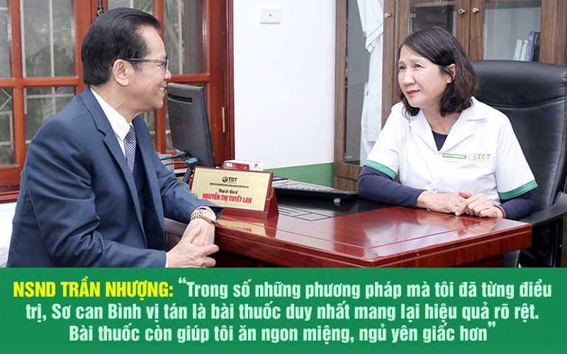 NS Trần Nhượng chia sẻ sau khi chấm dứt bệnh dạ dày