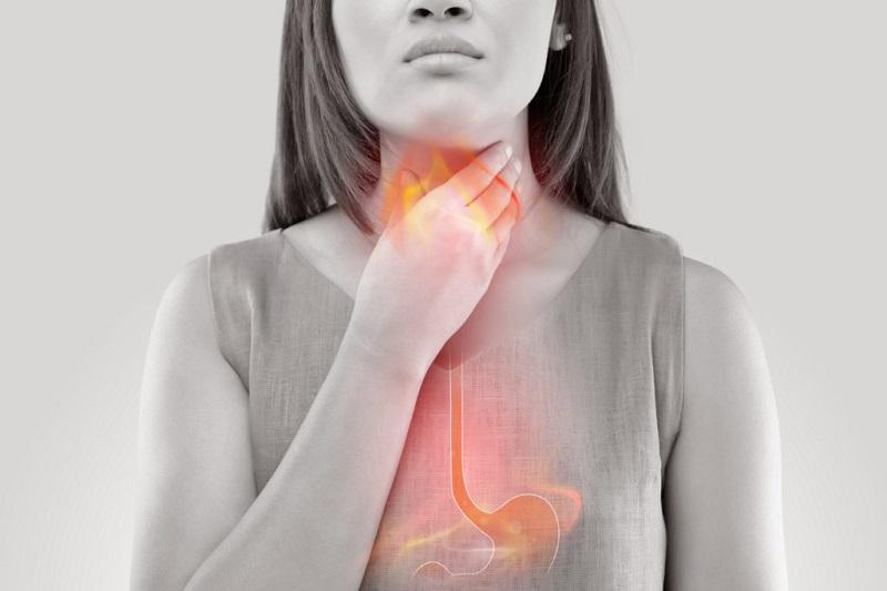 Acid dạ dày dâng cao cũng là nguyên nhân gây sưng amidan