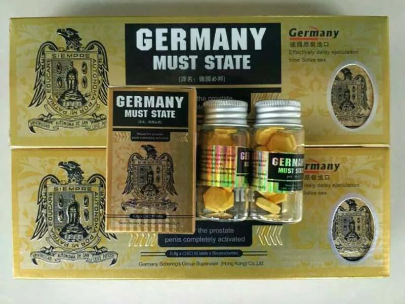 Thuốc tăng cường sinh lý Must State đạt tiêu chuẩn vô trùng Aseptic của Đức