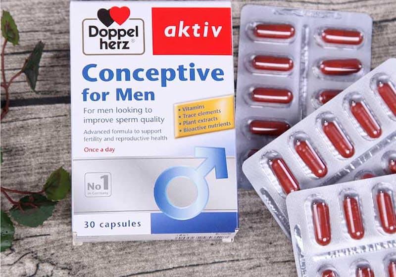 Conceptive For Men Doppelherz được bán rộng rãi ở nhiều quốc gia