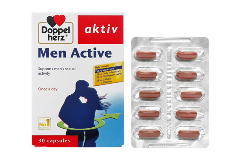 Men Active là sản phẩm của công ty Queisser pharma GMBH & CO.KG