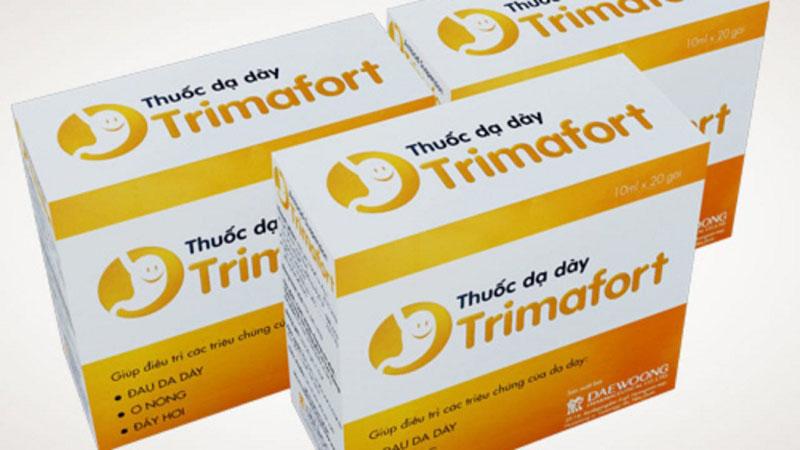 Trimafort thuộc nhóm kháng acid dùng trị trào ngược và viêm loét dạ dày