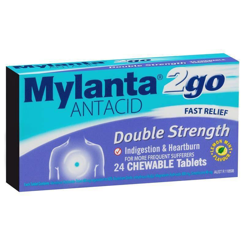 Phụ nữ mang thai chữa đau dạ dày bằng thuốc Mylanta thuộc nhóm kháng acid