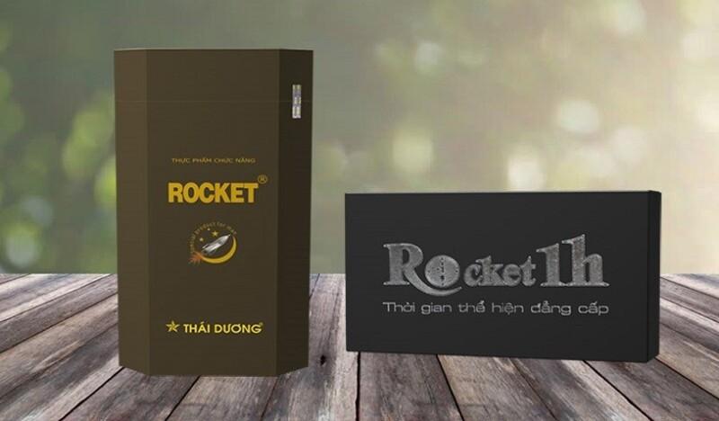 Bao bì sản phẩm Rocket một giờ đang được bán trên thị trường