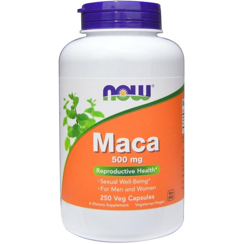 Viên uống Now foods Maca của Mỹ là sản phẩm điều trị rối loạn sinh lý