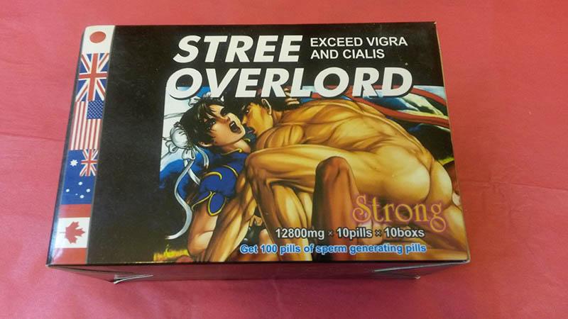 Stree Overlord là thuốc tăng cường sinh lý nam Nhật Bản nổi tiếng