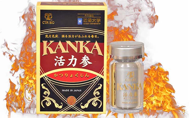 Kanka là thuốc tăng cường sinh lý có chiết xuất từ thảo dược thiên nhiên