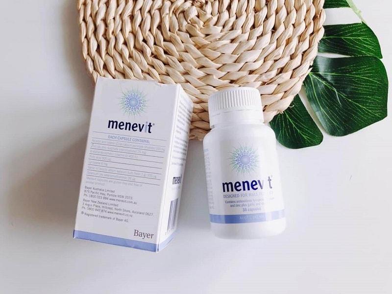 Viên uống cải thiện sinh lý Menevit