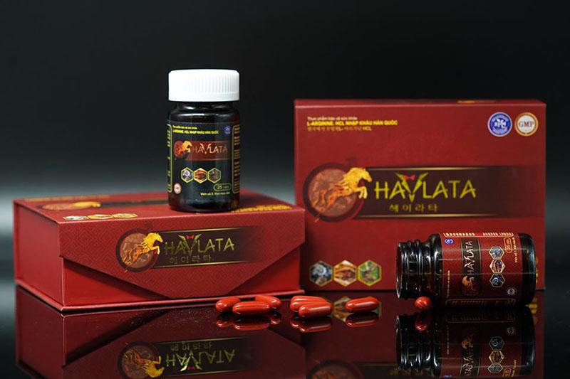 Sản phẩm thuốc yếu sinh lý nam Hàn Quốc Haylata