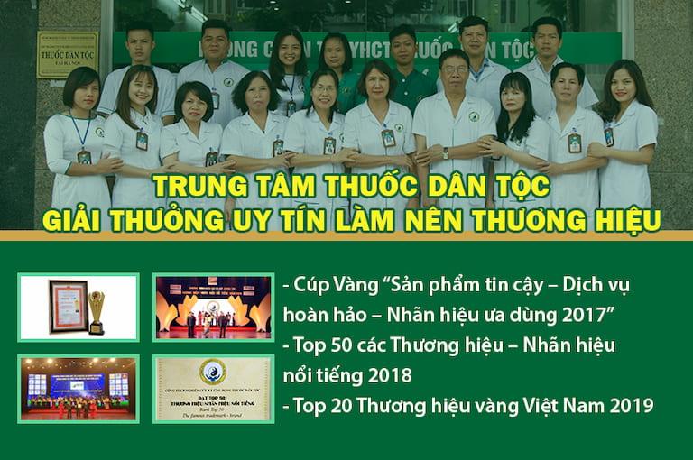 Một số giải thưởng của Thuốc dân tộc