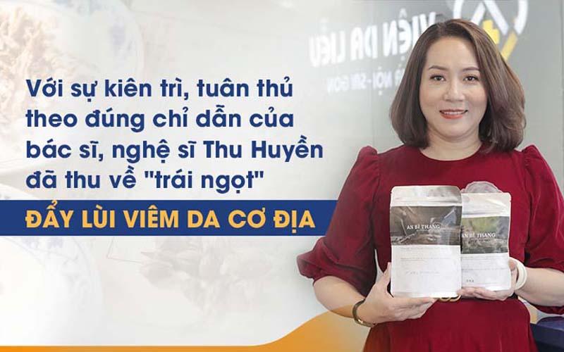 Diễn viên Thu Huyền khỏi viêm da sau sinh chỉ với 1 liệu trình