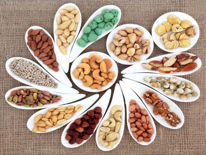 Các loại hạt cũng giúp tăng cường chức năng sinh lý ở nam giới hữu hiệu