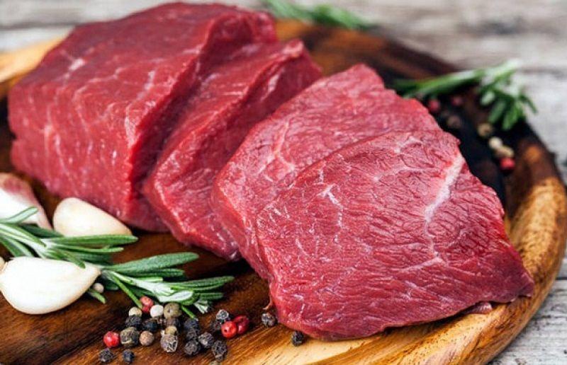 Thịt bò là thực phẩm tốt cho cánh mày râu, trị xuất tinh sớm hiệu quả