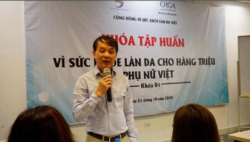 PGS. TS. Bác sĩ Nguyễn Duy Hưng chuyên điều trị viêm da cơ địa