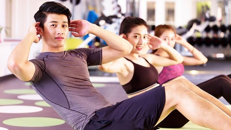 Gập bụng là bài tập điều trị rối loạn cương dương hữu hiệu nam giới nên thực hiện