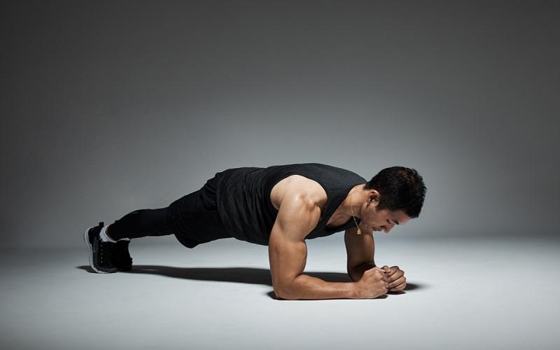 Plank là bài tập điều trị rối loạn cương dương đơn giản, hiệu quả cao