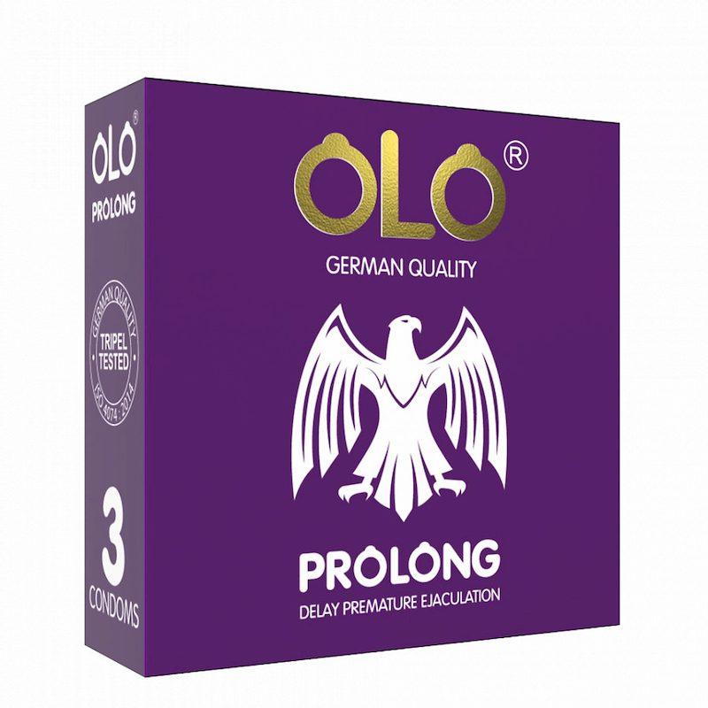 Bao cao su Olo Prolong giúp cập đôi thăng hoa cảm xúc