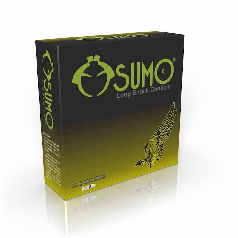 Sản phẩm bao cao su chống xuất tinh sớm Sumo