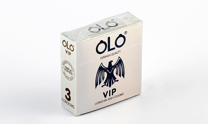 Olo VIP - bao cao su chất lượng cao của Việt Nam