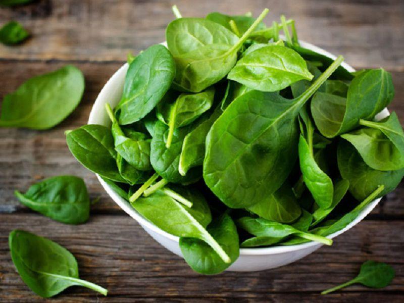 Các loại rau xanh chữa nhiều kẽm